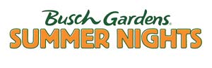 summer nights buschgardens logo